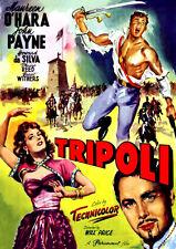Tripoli (DVD) John Payne, Maureen O'Hara, Howard Da Silva