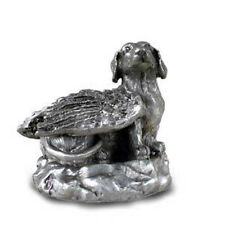 PEWTER Angel DACHSHUND Dog Figurine Statue New