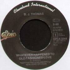 "B. J. THOMAS ~ WHATEVER HAPPENED TO OLD FASHIONED LOVE ~ 1983 DUTCH 7"" SINGLE"