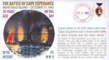 COVERSCAPE computer designed WWII Battle of Cape Esperance 70th event cover
