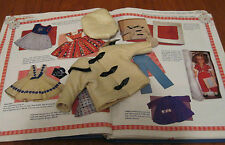 SHIRLEY TEMPLE IDEAL IVORY LINED COAT & MATCHING CAP FOR ST-12 DOLL w/ BOX  RARE