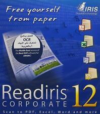 IRIS Readiris Pro 12 Corporate Edition The Middle East Version - PC, SEALED BOX