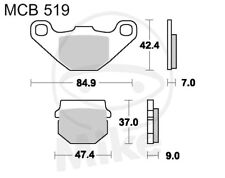 Trw Lucas plaquette de frein mcb519 Derbi senda 50 sm drd x-treme