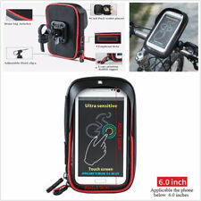 360° Rotation Motorcycle Bicycle Handlebar Mount Holder Bag Case For Phone GPS