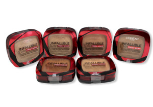 L'Oreal Infallible Up To 24H Fresh Wear Foundation in a Powder 0.31oz. You Pick!