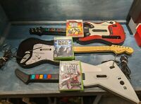 Guitar Hero / Rock Band Guitar Bundles Xbox, Playstation, Wii, DS - You Choose!