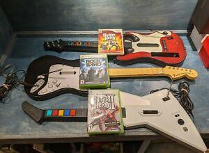 Guitar Hero / Rock Band Guitar Bundles for Xbox, Playstation, Wii - You Choose!