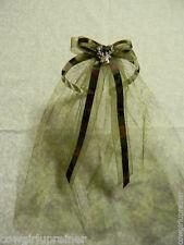 Wedding Party Custom Bridal Veil Camo Redneck Headband Tulle Deer Hunter Hunting