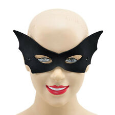 VAMP DOMINO BLACK VAMPIRE MASK FANCY DRESS HALLOWEEN