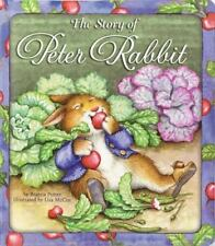 The Story of Peter Rabbit by Beatrix Potter hard Board book kids children's 2005