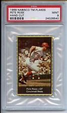 Pete Rose 1969 Nabisco Team Flakes #20 Rare PSA 9 Mint POP 7 None Higher !!