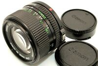 Near Mint Canon New FD NFD 24mm f/2.8 MF Ultra Wide Angle Lens w/ Cap from Japan