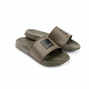 Nash Tackle Green Sliders Carp Fishing Footwear All Sizes