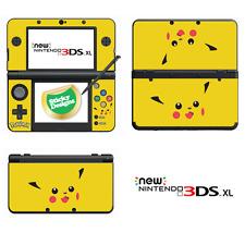 Pokémon Pikachu Vinyl Skin Sticker for NEW Nintendo 3DS XL (with C Stick)