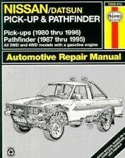 Haynes Automotive Repair Manual: Haynes Nissan Pickup 1980-96 and Pathfinder...