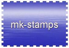Postfrische Briefmarken der DDR (1981-1990) mit