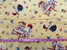 CLEARANCE FQ CHILDREN GIRLS OLD FASHIONED TEAPARTY CAKE FABRIC