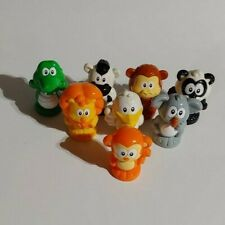 VTECH SMARTVILLE MAGNETIC ANIMAL Replacement TOY LOT of 8