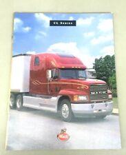 Mack Truck Bulldog 1995 Original Sales Brochure CL Series Trucks 12 Pages