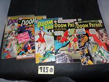 Doom Patrol lot 5 books #88 #90 #92 #103 and #104