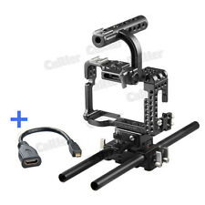 Professional Movcam DSLR 15MM Baseplate Cage For Sony A7S Camera Video Black