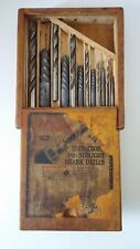 Vintage EZY-OUT Screw Extractor & Drill Set Wood Box - Cleveland Twist Drill Co.