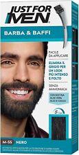 Just For MEN M55 coloration teinture Barbe *NOIR* naturel en 5 minutes