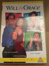 Will And Grace - Episodes 1 - 8 (DVD, 2002)