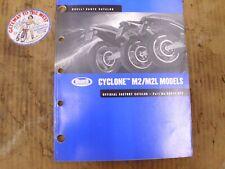 2002 Buell CYCLONE M2/M2L  Parts Catalog 99572-02Y.#