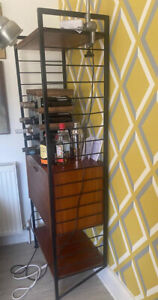 Ladderax Vintage Mid Century Teak Shelving Unit With Cabinet And Corner Unit