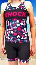 Triathlon Suit womens two piece tri suit STAR- Medium SALE RRP $99