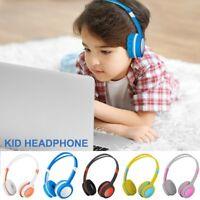 Wired Boy Girl Kids Headphones Safe Over-Ear Earphones for iPad/Phones/PC/Tablet