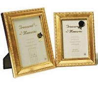 "Gold Photo Picture Frame 4x6"" & 5x7"" - Antique Effect"