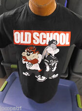 Mens Licensed Looney Tunes Old School Bugs Bunny & Taz Shirt New S