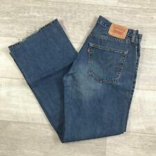 """Mens LEVIS 527 Bootcut Blue Stonewashed 31""""W 34""""L Vintage Denim Jeans #C4399"""