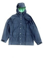 crescent down works 60/40 parka size xl good conditions navy /green. made in USA