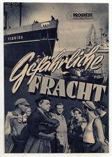 Filmprogramm: Gefährliche Fracht, Nr. 14/54