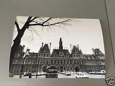 PARIS - HOTEL DE VILLE - PHOTO DE PRESSE ORIGINALE 20x14 cm