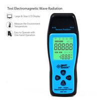 LCD Digital Electromagnetic Radiation Detector EMF Meter Dosimeter Tester Counte