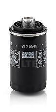MANN W719/45 OIL FILTER FITS VW AUDI SKODA 1.8/2.0 TFSI