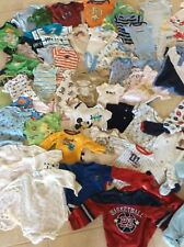 Huge 225 Pc Baby Boy Clothing Mixed Lot Pants Shorts Shirts Coats Onsies 3 Mo-3T