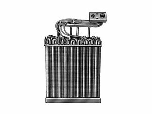 For 1983-1986 Plymouth Turismo 2.2 A/C Evaporator 41538ZS 1984 1985