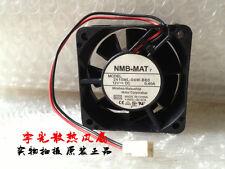 NMB 2410ML-04W-B60 fan 12V 0.40A 2pin 60*60*25MM #M2991 QL