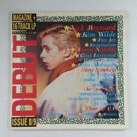 DEBUT LP MAGAZINE UK LP MAG 8/9 LP Vinyl VG++ Cover VG+ near ++ GF Various