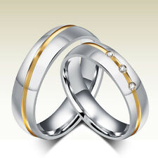 2 Partnerringe Trauringe Hochzeit Verlobung Ehe Ringe Edelstahl Gravur GPR020