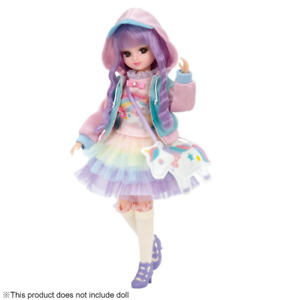 Clothes Set TAKARA TOMY Licca doll Yumekawa Coordination Dress Set Licca-chan