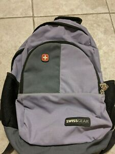 """NWOT Swiss Gear 18""""x14"""" Backpack - Purple, Gray, Black"""