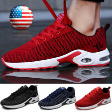 Men's Air Cushion Sports Athletic Tennis Sneakers Outdoor Casual Running Shoes