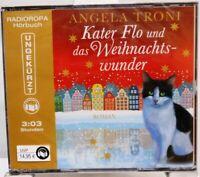 Kater Flo und das Weihnachtswunder Hörbuch auf 3 CD Angela Troni Weihnachten /56