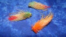 3 HAIR HOOKS LURE OLD FISHING LURES CRANKBAIT BASS BAIT PLUG WOW